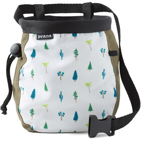 Prana Graphic Chalk Bag mit Gürtel cargo green trees